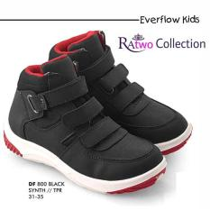 Sepatu Anak Sekolah Sd / Cibaduyut / Warna Hitam / Sepatu Boots Anak - A5ebc5
