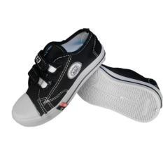 Sepatu Anak TK SD SMP NB Warna Hitam Velcro