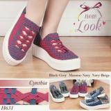 Sepatu Anyam Sepatu Rajut Cintia H631 36 Sd 40 Indonesia Diskon