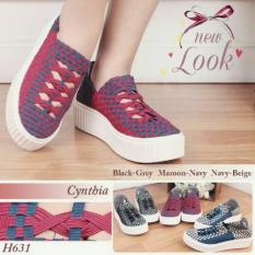 Toko Sepatu Anyam Sepatu Rajut Cintia H631 36 Sd 40 Lengkap