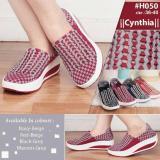 Dimana Beli Sepatu Anyam Sepatu Rajut Cynthia H050 Size 36 Sd 40 Multi