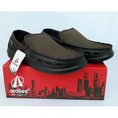 Amelia Olshop - Sepatu Ardiles Croc - Brown