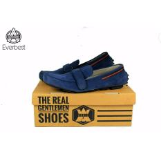 sepatu avail kulit asli original avail everbest navy