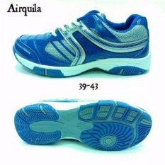 Spesifikasi Sepatu Badminton Airquila Ar New Biru Dan Harga
