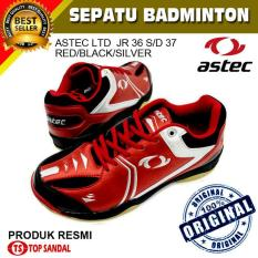 Sepatu Badminton Astec LTD JR-Red-Black-Silver