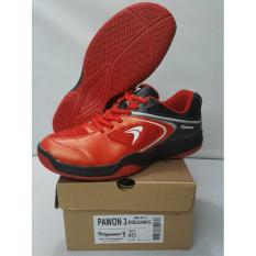 Sepatu Badminton Flypower Pawon 3 Merah (Orignal)