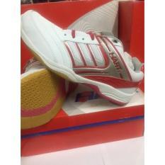Sepatu Badminton Merk Hart 303 White/Red ! 100% Original Product Hart - A7ca6b