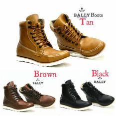 Sepatu Bally Boots High Untuk Pria Keren Main Nongkrong Fashion Populer Adventure