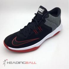 Sepatu Basket Nike Original Air Versitile II Black Gym Red 921692-002