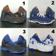 Sepatu Basket Under Armour Sc Premium High Pria Man Murah - 95Ccbc