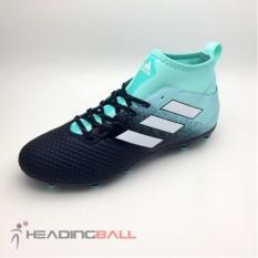 Sepatu Bola Adidas Original Ace 17.3 FG Black Lightblue BY2198 BNIB
