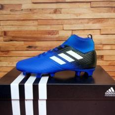 sepatu bola anak keren model boots biru