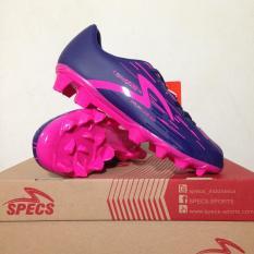 Sepatu Bola Anak Specs Accelerator Lightspeed Junior Purple Pink 100734 Original BNIB