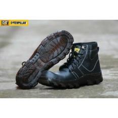 Sepatu Boot Boots Pria Caterpillar Terbaru Safety Kulit