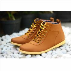 Sepatu Boot boots Pria Dalmo Original Touring kasual semi casual formal  ( LOKAL )