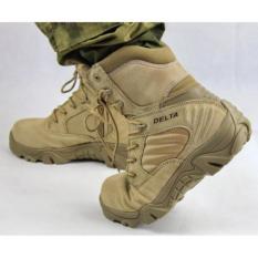 Beli Sepatu Boot Hiking Delta High 8 Inch Quality Outdoor Gurun Delta Dengan Harga Terjangkau