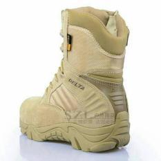 Harga Sepatu Boot Hiking Delta High 8Inch Quality Outdoor Gurun Delta Online