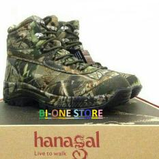 Sepatu Boot Hiking Hanagal Camo 6inch army   camotree