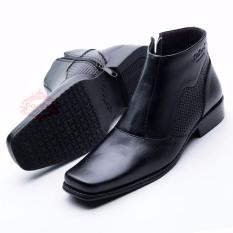Beli Sepatu Boot Pantofel Pria Formal Kulit Sapi Asli Boots Hand Made Premium Kode 0314Ht Online Murah