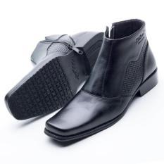 Sepatu Boot Pantofel Pria Formal Kulit Sapi Asli Boots Hand Made Premium Model Kickers 0314