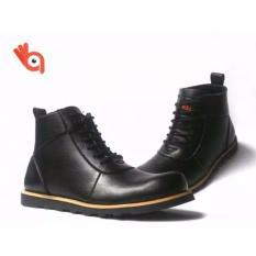 Sepatu Boot Pria Adabos Orion Safety Black