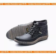 SEPATU BOOT PRIA/ BOOT CASUAL/ BOOT KULIT ASLI MODEL KICKERS SOL KARET MURAH