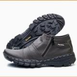 Spesifikasi Sepatu Boot Pria Pendek Hangout Touring Traveling Bahan Kulit Asli Murah