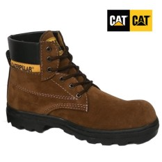 Sepatu boot pria caterpillar safety shoes, sepatu pria caterpillar sepatu caterpilar coklat suede, sepatu gunung