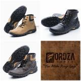 Ulasan Sepatu Boot Pria Kulit Asli Corrected Grain Boots Touring Fordza Model Casual Tinggi Bks06