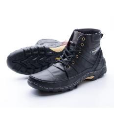 Jual Sepatu Boot Pria Kulit Asli Corrected Grain Boots Touring Fordza Model Casual Tinggi Bks06 Murah Di Yogyakarta