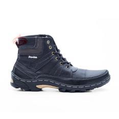 Beli Sepatu Boot Pria Kulit Asli Corrected Grain Boots Touring Fordza Model Casual Tinggi Bks06 Lengkap
