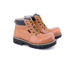 Sepatu  Boot Pria LZGR 164 Kulit