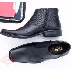 SEPATU BOOT Pria Pantofel Formal KULIT PREMIUM Handmade Branded 0315