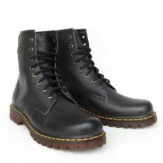 Review Sepatu Boot Pria Safety Kulit Asli Pdh Pdl Dr Martens Touring Hiking Indonesia