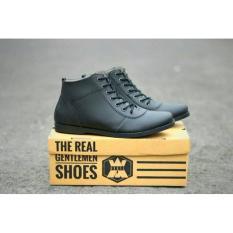 Sepatu Boot Pria / Sepatu Boots Kulit / Boot Model Kickers- Caterpillar- Bally- Brodo BKS01TP Sauqi Footwear New Vegas Sepatu Casual Formal Pria Kulit Asli - Hitam