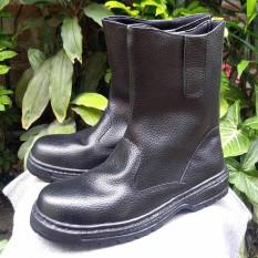 sepatu boot safety KULIT SAPI ASLI 705 original