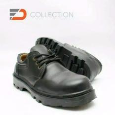Beli Spartan Sepatu Boots Pria Sepatu Pria Safety Pendek Kerja Bertali Black Murah Di Jawa Tengah