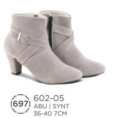 sepatu boot wanita, pantofel boots wanita terbaru 602-05, boots wanita / sepatu casual wanita boots cewek - kuliah kampus
