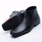 Harga Sepatu Boot Boots Pria Pantofel Best Quality Kulit Asli 0312 Ht Asli