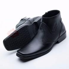 Sepatu Boot/Boots Pria Pantofel Best Quality Kulit Asli 0312 HT