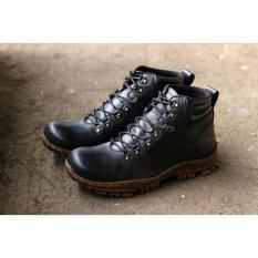 Sepatu Boots Adabos Leo Safety Ujung Besi /Sepatu Boot Pria Wolf Kickers 3