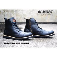 Harga Sepatu Boots Almost Magnum Hitam Almost Original