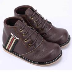 Sepatu Boots Anak Laki-Laki Cowok Boot Warna Coklat CJR CTS 205 CR