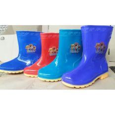 Sepatu Boots Boot Anak Kids Shoes Karet Rubber Jelly Anti Air Murah - 57C773