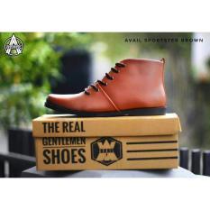 Harga Sepatu Boots Brodo Made Original Sepatu Boots Pria Avail Sportster Coklat Terbaru