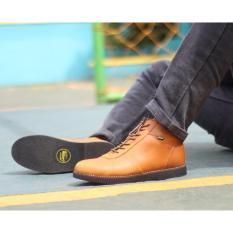 Toko Sepatu Boots Brodo Pul Up Leathers Men S Sepatu Kulit Asli Bae Weah Golden Tan Terdekat