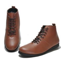 Sepatu Boots Casual Nyaman Pria Terkini - FELLAS BRODO HIGH - Brown