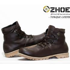 sepatu Boots Casual Pria - ZHOEY FOOTWEAR TORQUE - Coffee