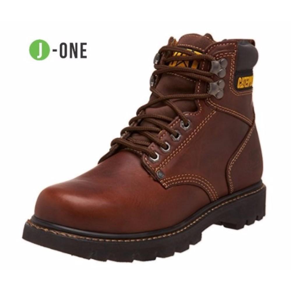 Sepatu Boots CATERPILLAR Toe Steel Brown