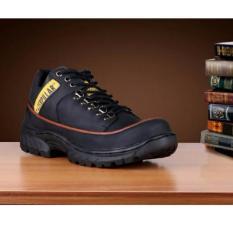 Sepatu Boots Kerja Pria Caterpillar Safety Marshall - Black